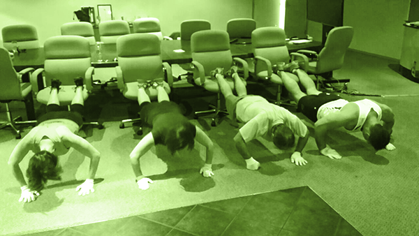 corporate fitness training